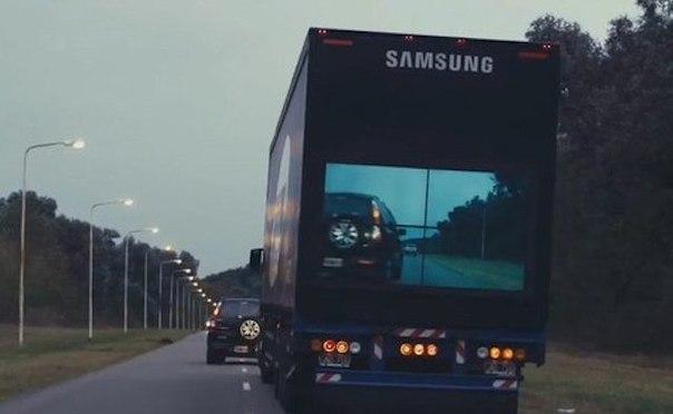 Samsung действительно будет производить экраны для фур, которые показывают водит...