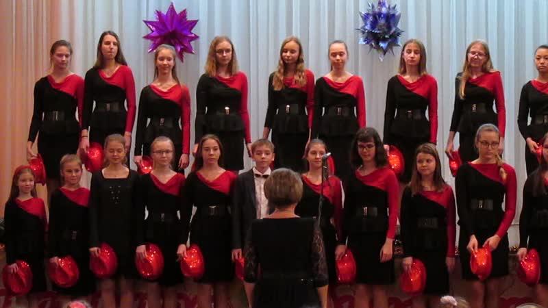 19.12.2018 Концерт в школе №103. Песни Джа-да и Дождь в ритме босса-новы.