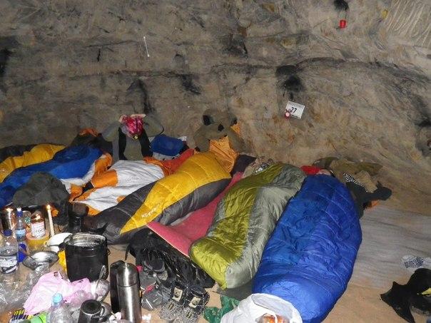 Январская Танечкина пещера в