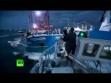 Морской бой_ в Ла-Манше столкнулись британские и французские ловцы гребешков