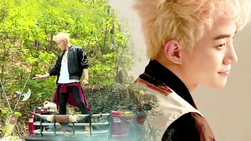 JUNHO (From 2PM) FEEL Jacket Shooting MV Making Movie