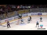 Лучшие силовые приёмы КХЛ сезона 2012-2013