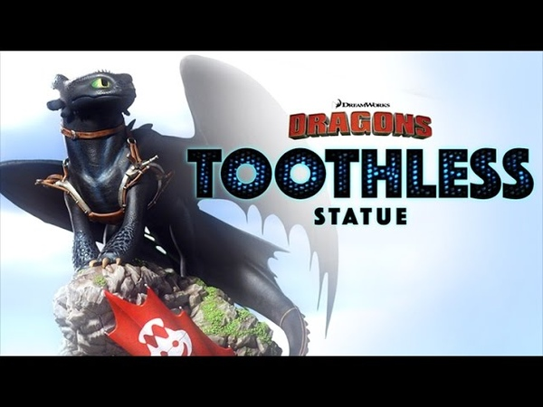 How to Train Your Dragon - Toothless Statue Reveal