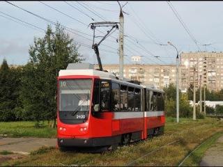 Новый ижевский трамвай Tatra KT4DM №2400