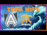 TeamWipe Alliance vs Fnatic HyperX D2L Dota 2