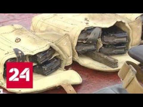 Не могли не ответить украинские военные на катере Бердянск расчехлили пушку - Россия 24