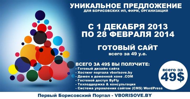 Сайт в Борисове 1