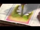15/03/2013 Luciano Menezes - Pintura em tecido rosas parte 1