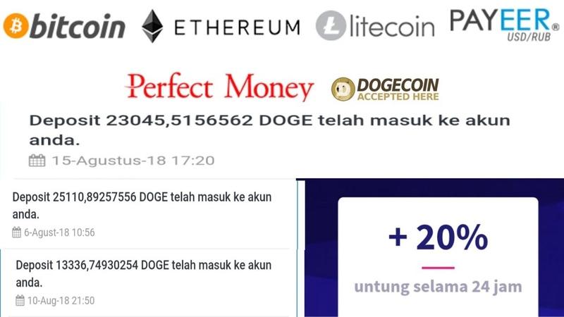 Situs Investasi CryptoCurrency BITCOIN Terbaru Profit 20% Hari 5 Hari Balik Modal
