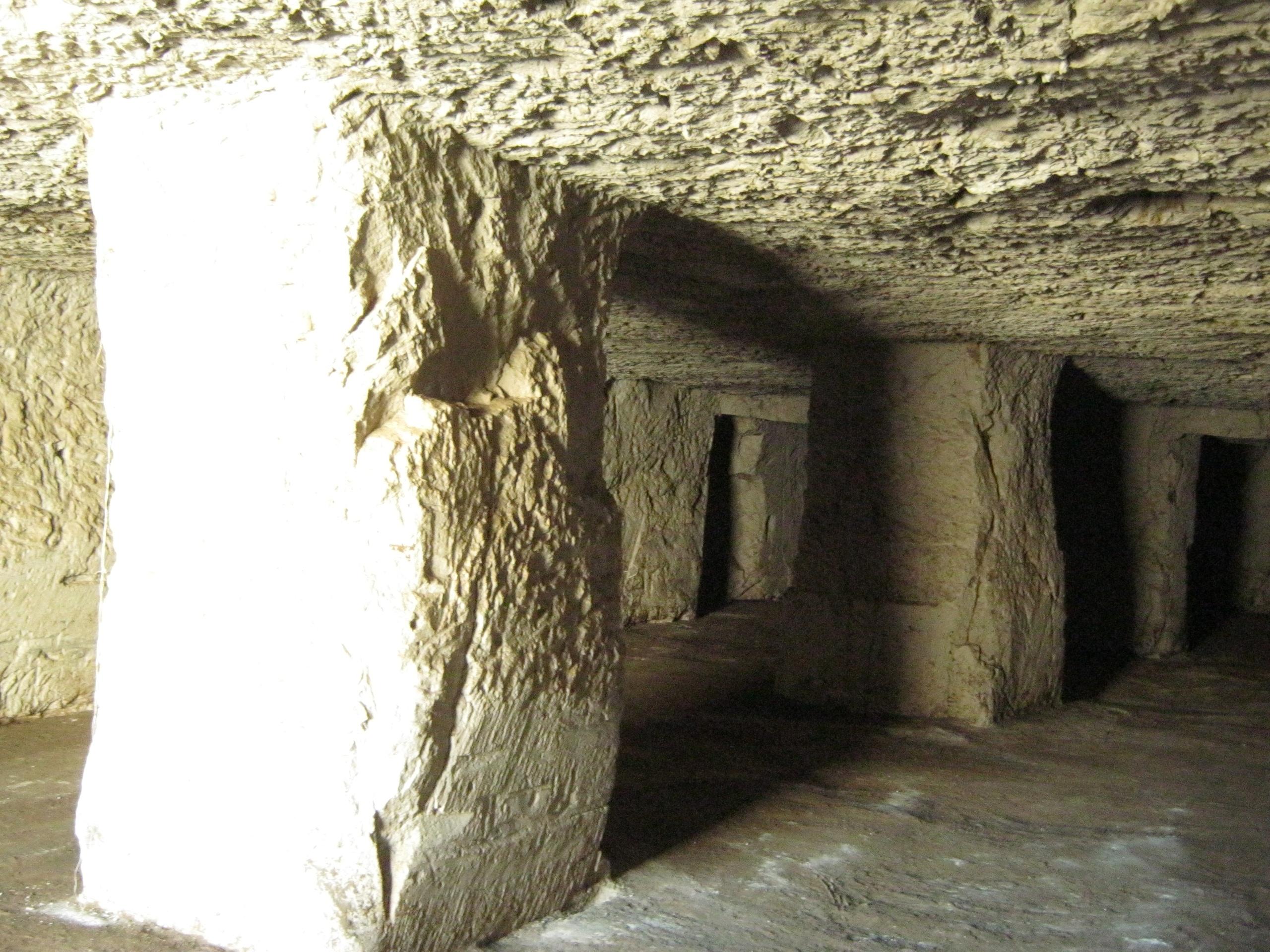Внутри каппадокийского депо по хранению цитрусовы