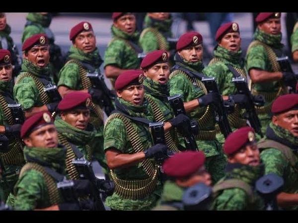 Desfile militar México 2018/ Sin comentarios de TV/Military parade Mexico 2018
