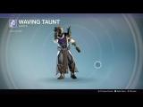 Destiny_20180129 WARLOCK . ZNAK WAVING TAUNT.