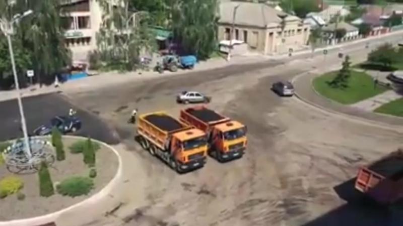 Украинские гаишники показывают класс