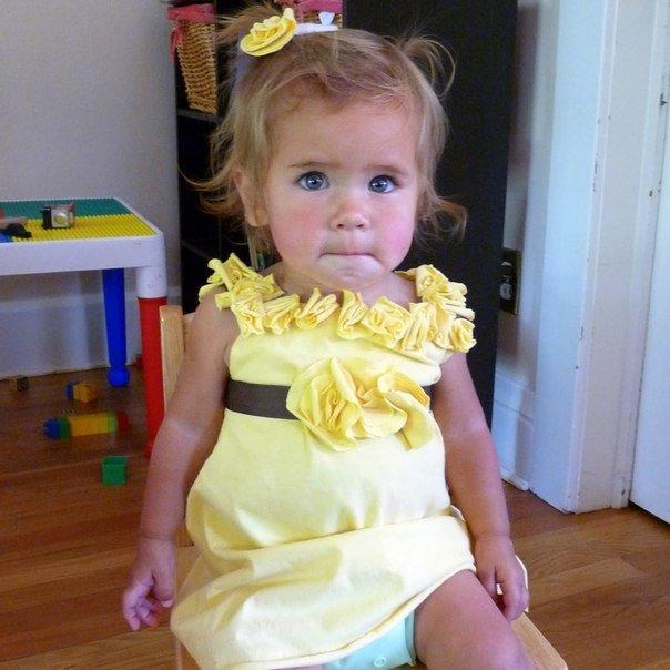 Детские платья фото своими руками