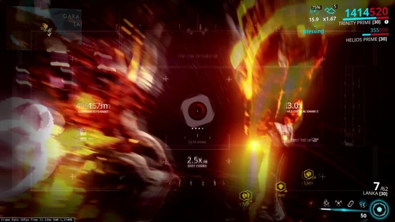 Warframe Eidalon Hunt 1x3 solo with new AMP (Nerfed)