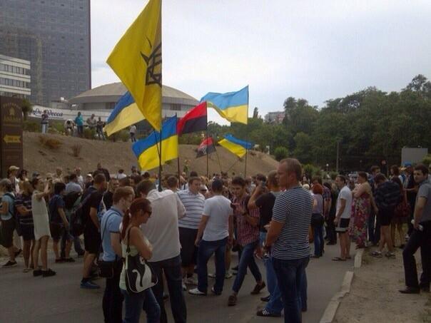 Под консульством РФ в Одессе произошла драка - Цензор.НЕТ 2593