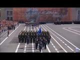 Парадный расчёт ГУАП на Параде Победы 2019
