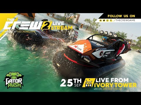 LiveFromIVT - The Crew 2 Gator Rush launch stream