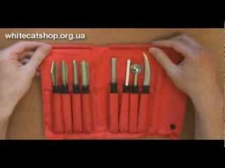 набор для карвинга triangle - carving tool set unboxing