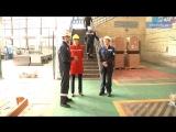 Елена Авдеева в электроремонтном цехе «Северстали»