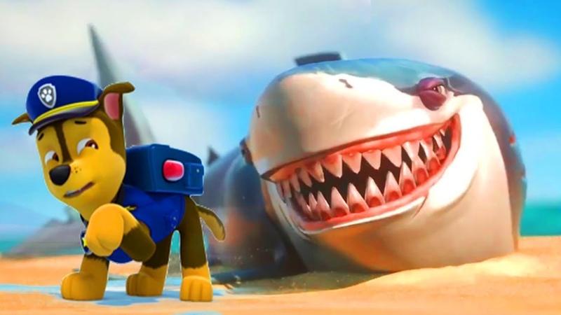 Морской патруль: Щенки спасают акулу   Супер Щенки - Щенячий патруль на русском все серии подряд