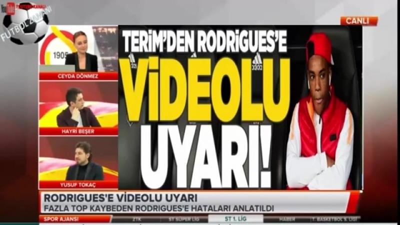 Galatasaray Spor Ajansı ¦ Galatasaray Gündemi ve Rodrigues yorumları 7 Nisan 2018