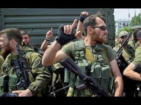 Російські бандформування під Маріуполем поповнили свіжі російські кадрові військові репортаж