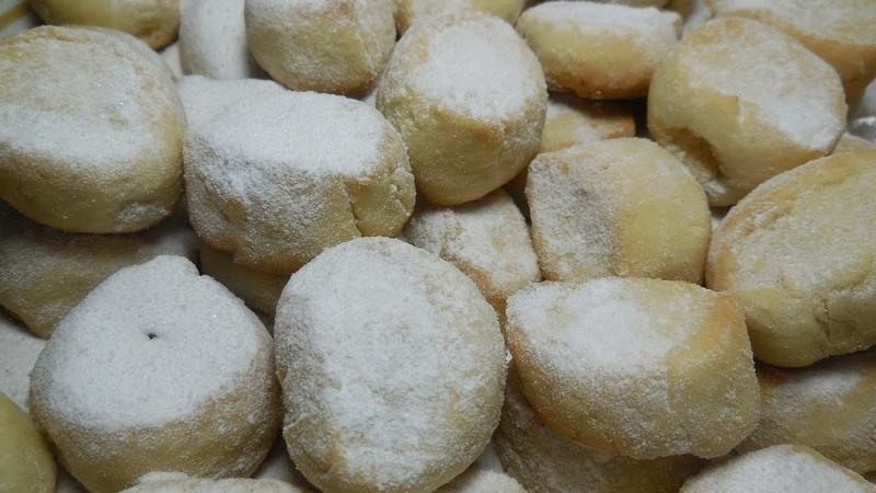 ✅Печенье тающий снегпесочное печеньеCookies melting snowshortbread cookies