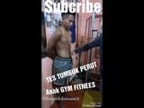 Tes Tumbuk otot perut Gut Punching anak sekolah 18 tahun GYM MUSCLE
