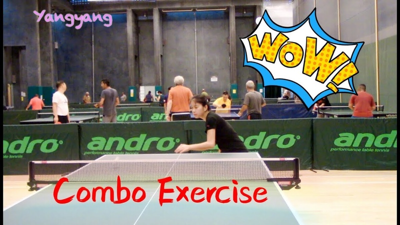 Backhand Push Forehand Loop Forehand Topspin——Yangyangs table tennis lessons