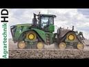 JOHN DEERE 9RX Tractor | Köckerling Vector Cultivator | 9620 RX | Cultivating