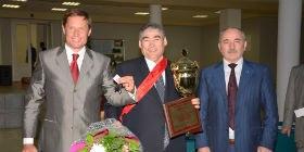 СПК «Племзавод «Первомайский» признан победителем ежегодной выставки племенных овец. 2013 год