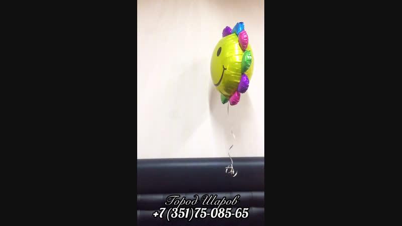 Как летают некоторые китайские шарики