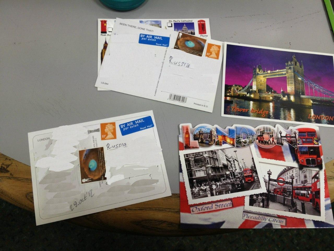 Газеты и почта в Великобритании