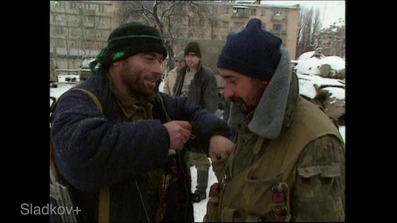 Грозный перед штурмом московитами, 1994 год
