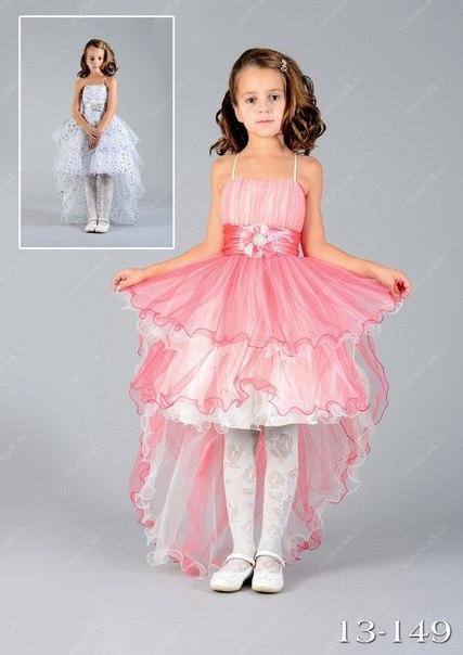Платье дочке на выпускной из садика