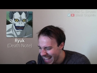 ONE GUY, 44 CHARACTERS (Death Note, Family Guy, Rick Morty, Famous Character Impressions).mp4