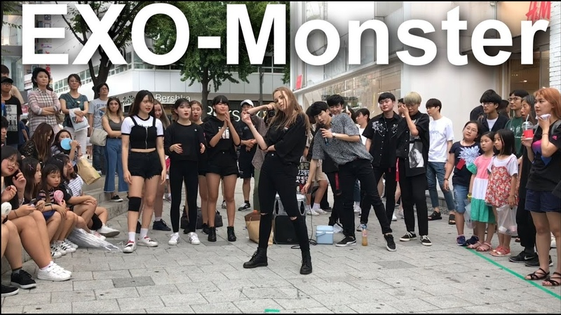 Ukraine)우크라이나 댄스실력자 나타났다. EXO(엑소)-Monster(몬스터) dance cover(댄스커버) (dance cover by J.Yana)