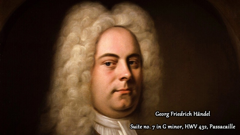 Georg Friedrich Handel - Suite no 7 in G minor, HWV 432 Passacaille (Neo Classical Metal Cover)