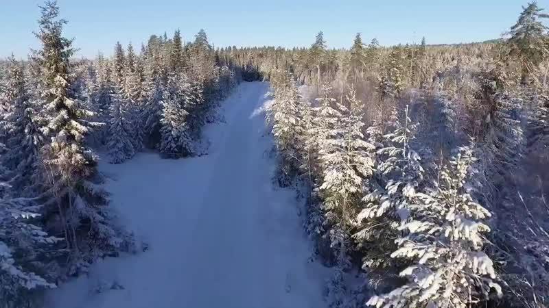 Самое красивое зимнее видео Зимняя сказка Зимний закат Красивая зима Релакс_Full-HD_1.mp4