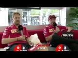 Ferrari's Sebastian Vettel and Kimi Raikkonen | Grill the Grid: Truth or Lie?
