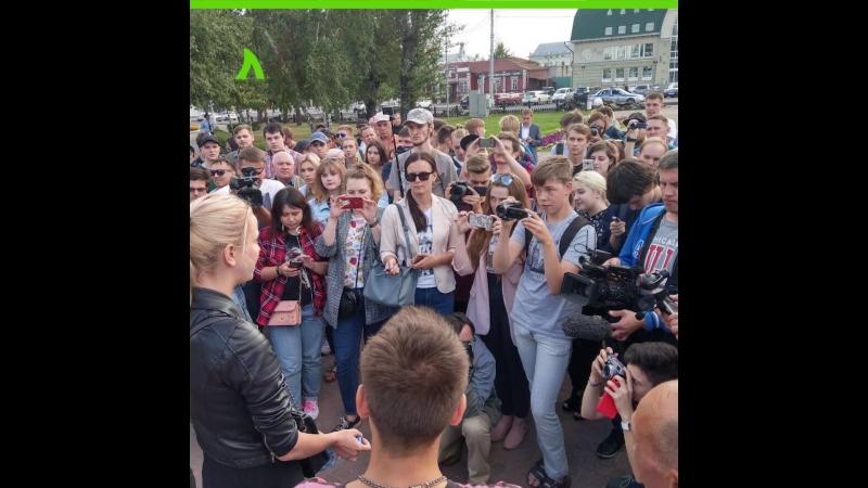 Пикет «За свободный интернет» в Барнауле | АКУЛА