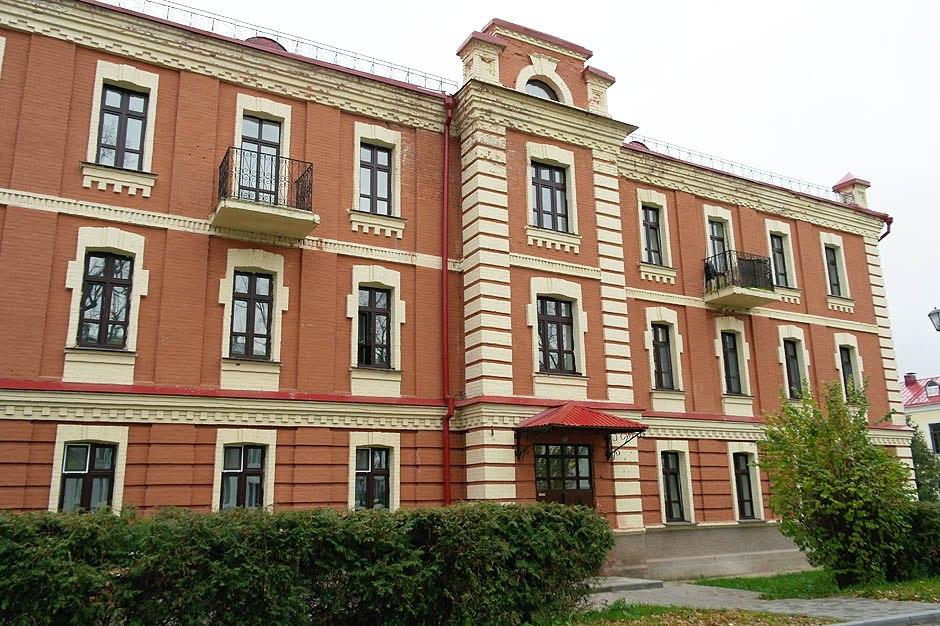 Былы прафесарскі корпус, вул.Мічурына, 2. Фота: horki.info.