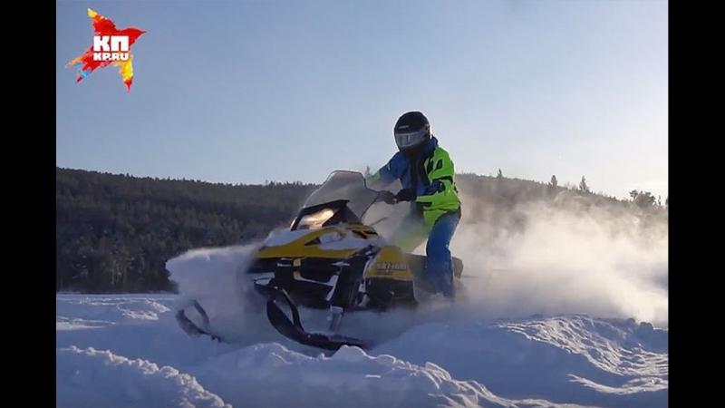 ПАПАспорт, выпуск четвертый: катание на снегоходах на базе отдыха