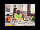 Пелін з синочком у рекламі дитячого харчування