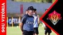 Carpegiani faz mudanças no Vitória para pegar o Palmeiras