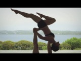 Бриони Смит и Дайс Илда-Кляйн || Акро Йога || Acro Yoga by Equinox