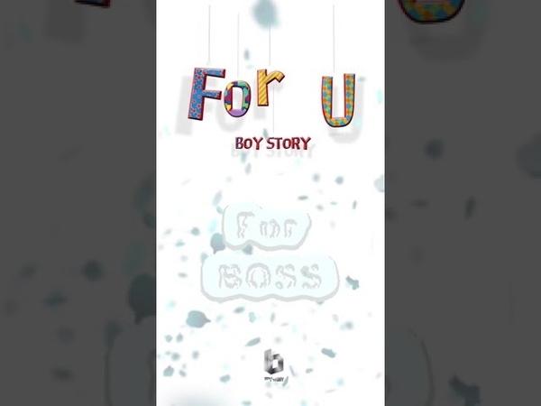 BOY STORY For U Self-cam ver.