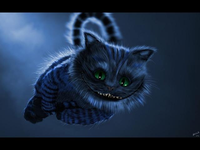 Digital speed painting | Cheshire Cat [Corel Painter]