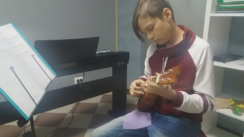 Каркасси - Андантино (укулеле)